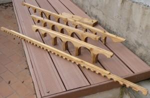 Maquette du pont du Gard - Claude Larnac Académie Pont du Gard www.academie-pontdugard.com