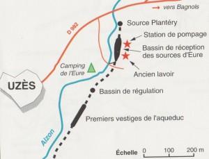 Aqueduc- Val d'Eure -(L'aqueduc du pont du Gard- NPL C. Larnac et F. Garrigue- 1990