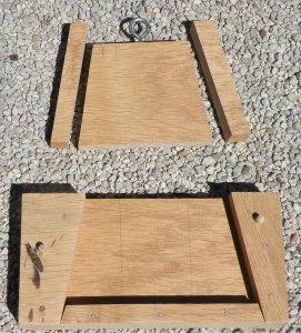 Un aute mode de louve à trois pièces (louve et deux louveteaux)