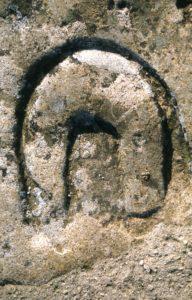 Fer à cheval (jambe postérieure)- Signe compagnonnique