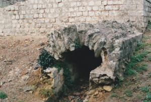 Les thermes romains à Saintes- Cliché C. Larnac